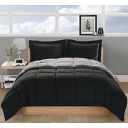Metro Lux Thermal Nights Twin Comforter with Sham Black / Gray at Kmart.com