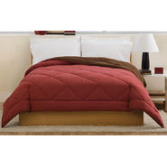 LifeStyles Villa Full / Queen Comforter Brown / Burgundy at Kmart.com