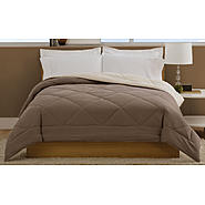LifeStyles Villa Twin Comforter Tan / Brown at Kmart.com