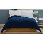 LifeStyles Villa Full / Queen Comforter Light Blue / Dark Blue at Kmart.com
