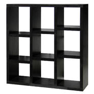 DonnieAnn Richdale 9 cube bookcase/storage with 4 adjustable shelves at Kmart.com