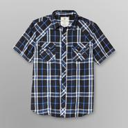 Route 66 Men's Plaid Button-Down Short Sleeve Shirt at Kmart.com