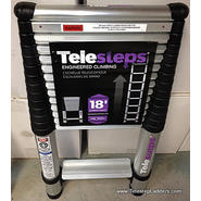"Telesteps 1800EP 14.5 Foot Professional Use Telecopic Ladder, ""Type 1A"" 300 lbs Rated at Sears.com"