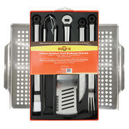 Mr. Bar-B-Q Stainless Steel Tool Set & Barbecue Topper Bundle at Sears.com