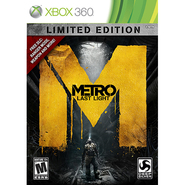 Square Enix Xbox 360 Metro: Last Light Limited Edition at Kmart.com