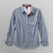 US Polo Assn. Junior's Chambray Shirt at Sears.com