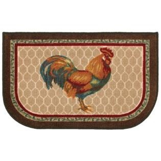 Shaw Living 2 ft. x 3 ft. Rooster Kitchen Rug
