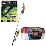 Ready 2 Fish Spin Cast Reel and Rod Combo with Line & Tackle Box Bundle at Kmart.com
