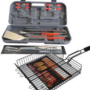 Kenmore Kenmore 17pc. BBQ Set with Digital Temp Fork &...