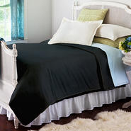 Allerease Black Decorative Comforter at Kmart.com