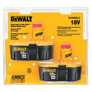 Dewalt Tools 2 Pack 18V XRP Batteries at Sears.com