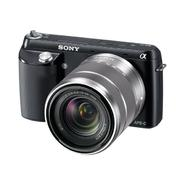 Sony 16.1MP Compact Interchangeable Lens Digital Camera NEX-F3K/B at Sears.com