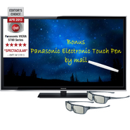 "Panasonic 60"" Class Viera®  1080p 600Hz 3D Plasma HDTV - TC-P60ST60 at Sears.com"