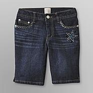 Canyon River Blues Girl's Bermuda Jean Shorts - Embellished at Kmart.com