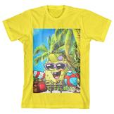 Nickolodeon SpongeBob SquarePants Boy's Graphic T-Shirt at mygofer.com
