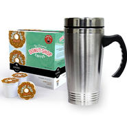 Travel Mug & Donut Shop K-Cups Bundle                ...