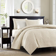 Madison Classics Vancouver 2 Piece Twin/TXL Coverlet Set in Ivory at Kmart.com
