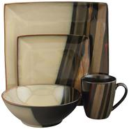 SANGO Avanti Black 16 piece Dinnerware Set at Kmart.com