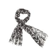 Joe Boxer Women's Fringe Scarf - Feather Print at Kmart.com