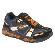 Athletech Boy's Sneaker Light Rider - Black/Orange at Kmart.com