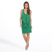 Tiana B Women's Sleeveless Dress - Flyaway Ruffle at Sears.com