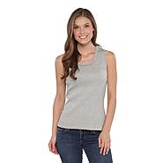 Laura Scott Women's Ribbed Tank Top at Sears.com