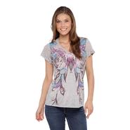 Joe by Joe Boxer Women's Graphic T-Shirt - Feathers at Sears.com