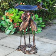 SunJoy Clemson Bird Bath at Sears.com