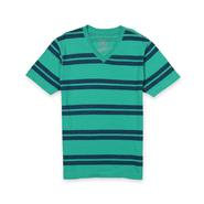 Roebuck & Co. Young Men's V-Neck T-Shirt - Striped at Sears.com