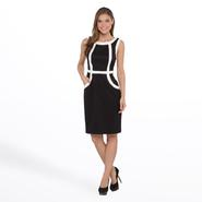 Connected Apparel Women's Sleeveless Dress - Colorblock at Sears.com