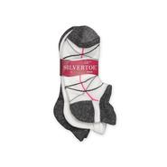 Silvertoe Women's 3-Pack Ankle Socks at Sears.com