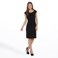 Connected Apparel Women's Knit Dress - Shirred at Sears.com
