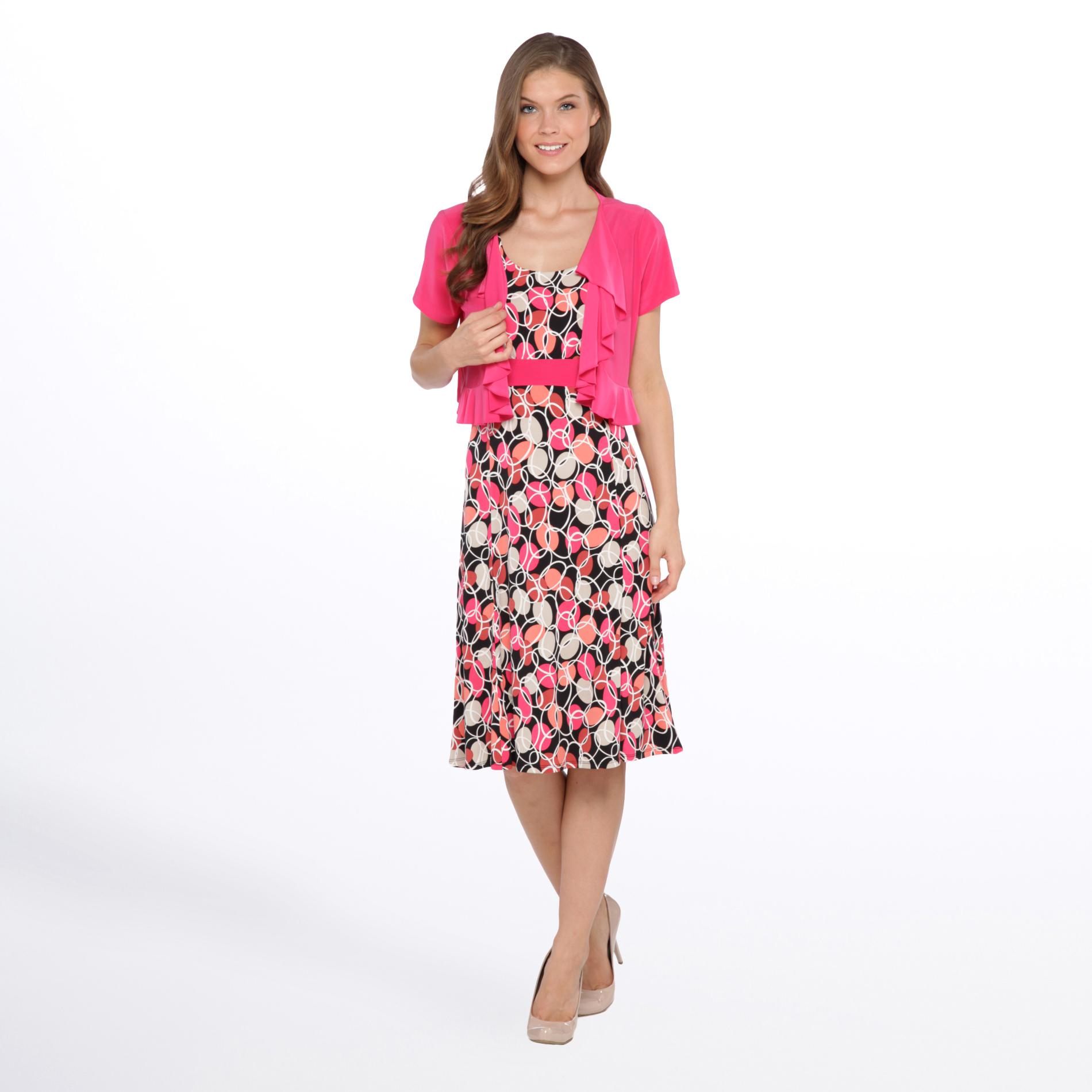 Women's Dress & Jacket - Circle Print at Sears.com
