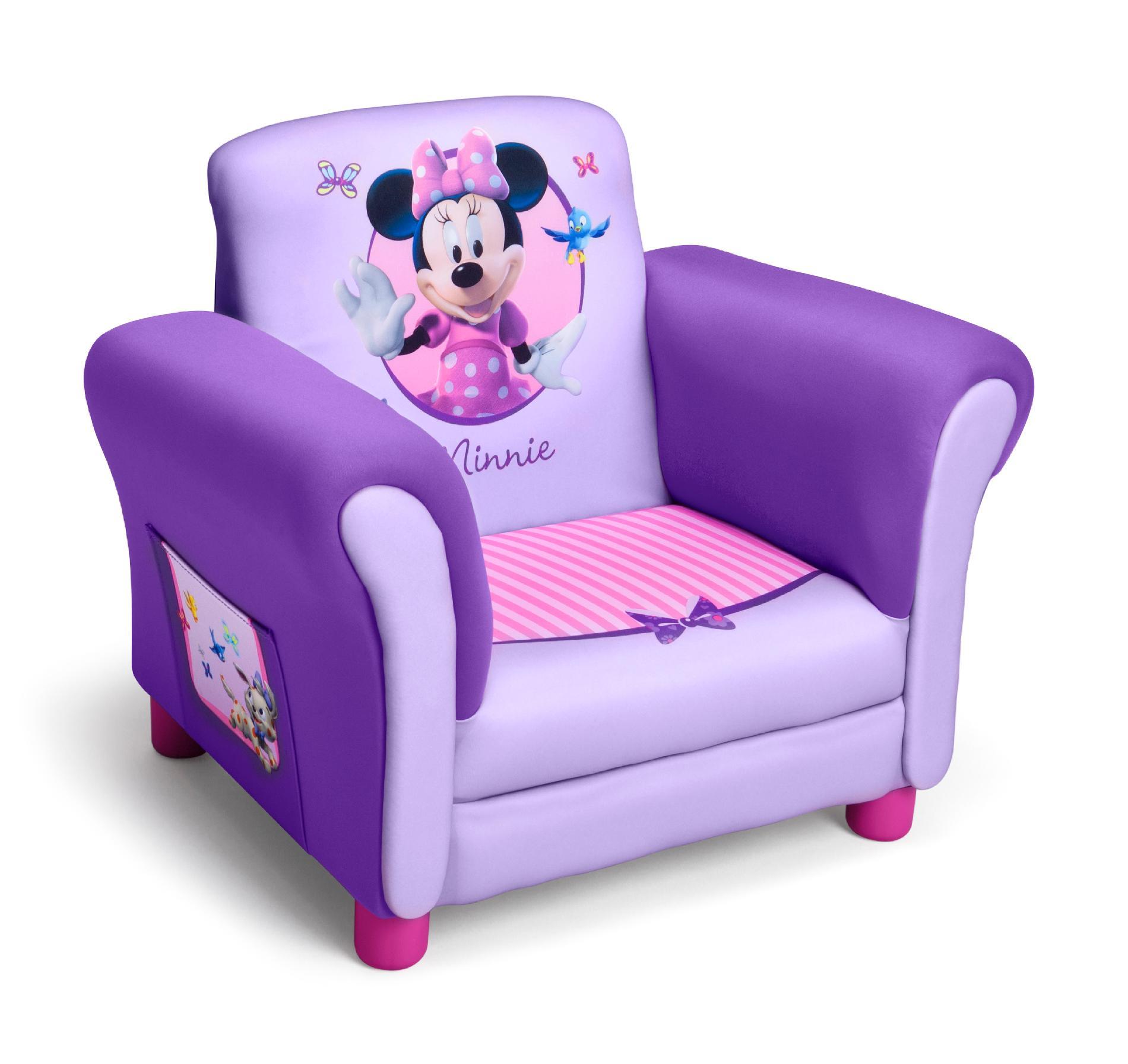 Gentil Delta Children Minnie Mouse Kids Club Chair