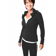 LVA Women's Fancy Collar Zip Up Online Exclusive at Sears.com