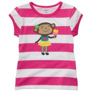 Carter's Toddler Girl's Graphic Tee 'Monkey' at Sears.com