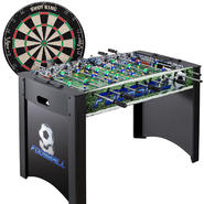 Foosball Table & Dart Board Bundle at Sears.com