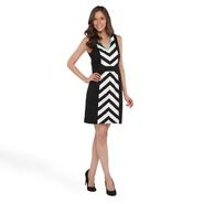 Studio 1 Women's Sleeveless Dress - Chevron Stripe at Sears.com