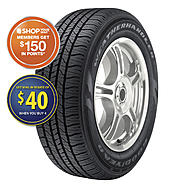 Goodyear WeatherHandler Fuel Max - P195/60R15 87H BW - All Season Tire at Sears.com