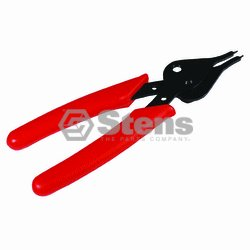"Stens Snap Ring Pliers 5-3/4"" .045"" diameter tips 5 3/4"" L Convertible for either internal or external snap rings"