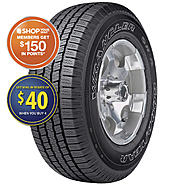 Goodyear Wrangler SR-A - 225/70R16 103T OWL - All Season Tire at Sears.com
