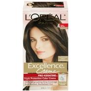 L'Oreal Paris Excellence Crème Hair Color, Dark Brown at Kmart.com