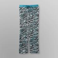 Joe Boxer Women's Plush Sweatpants - Zebra Print at Sears.com