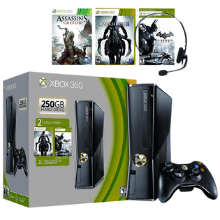 -Xbox 360 250GB Spring Value Bundle & Additional Game
