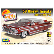 Revell-Monogram 1:25 Scale 1959 Chevy Impala Convertible 2 -in-1 Plastic Model Kit at Sears.com