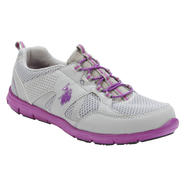 U.S. Polo Assn. Women's Lynda Gray/Purple Slip-On Athletic Shoes at Sears.com