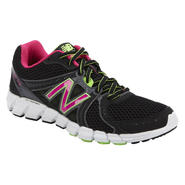 New Balance Women's 750V2 Running Athletic Shoe - Black/Pink/Lime at Sears.com
