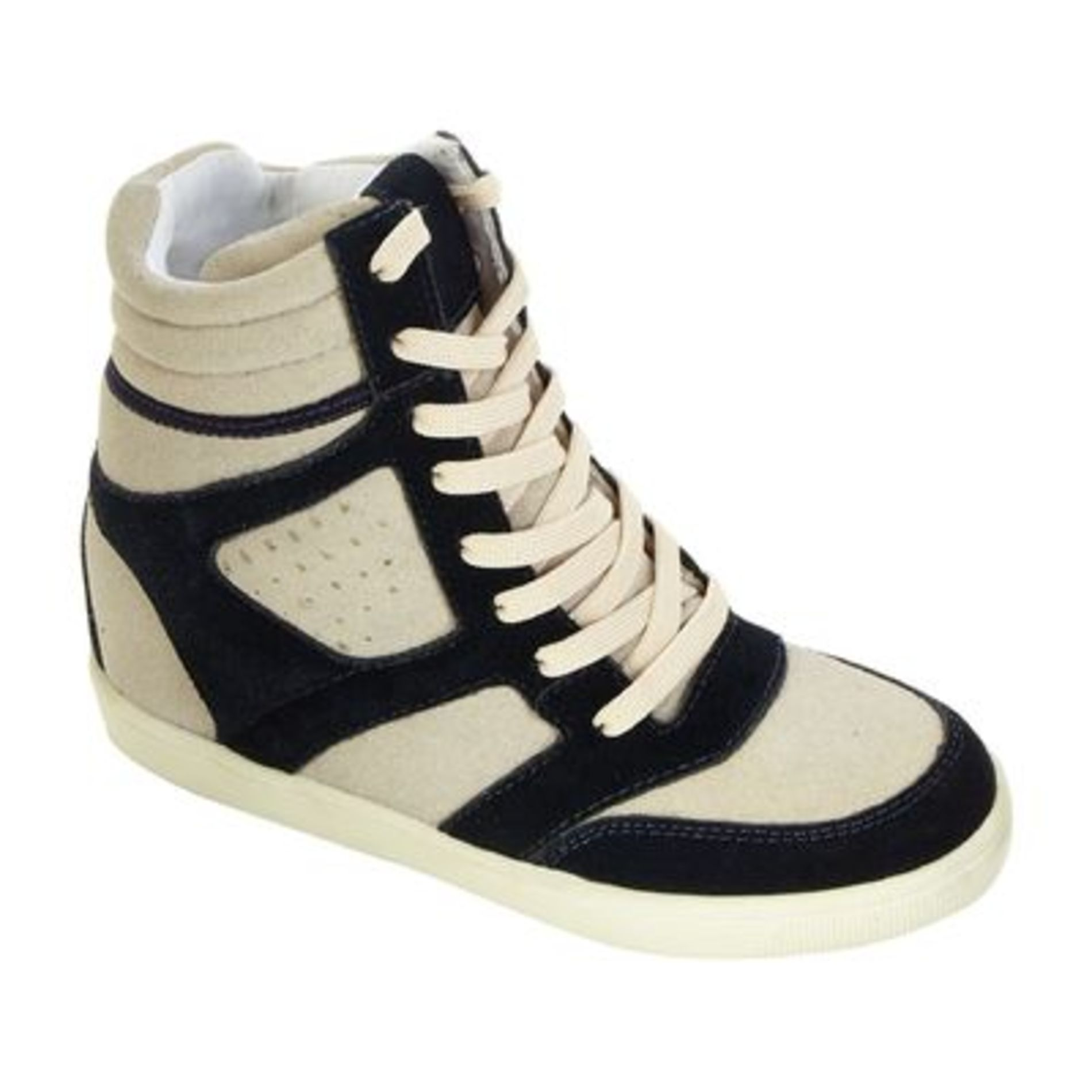 Women's ZG12096-01 Eden Casual High Top - Navy Suede
