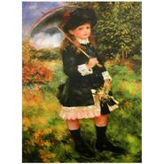 Oriental Furniture 'Young Girl with Parasol'  Canvas Wall Art at Kmart.com