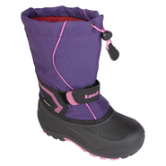 Kamik Girl's Weather Boot Snow Bank - Purple/Pink at Sears.com